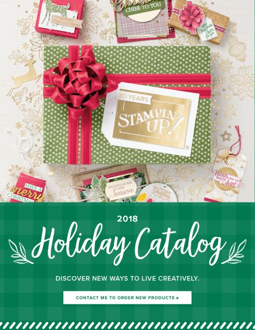 Stampin Up 2018 Holiday catalog - Order your product shares today! www.juststampin.com Jeanie Stark StampinUp