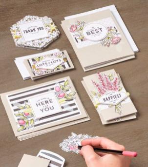 Card Kit Lots of Happy samples