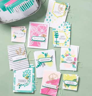 Card Kit Soft Sayings Samples