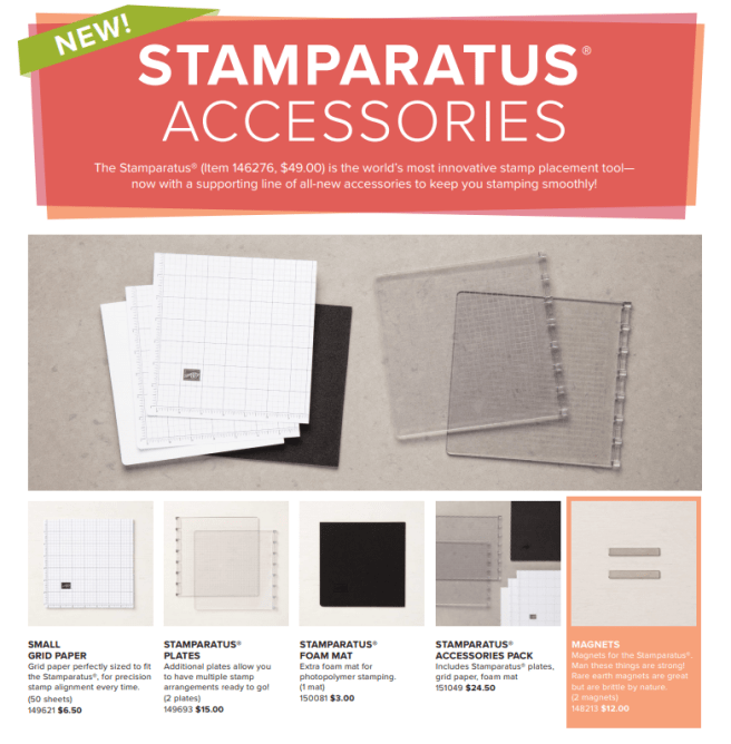 Stamparatus Accessories available