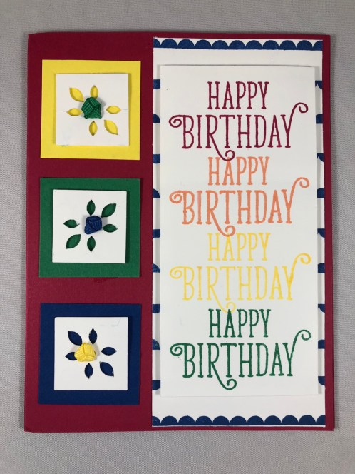 Stampin Up Happy Birthday Gorgeous birthday card idea - Jeanie Stark StampinUp