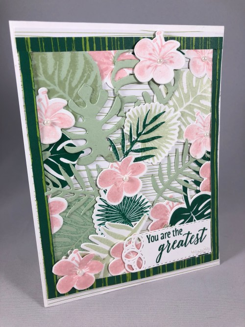 Stampin Up Tropical Chic card idea - Jeanie Stark StampinUp