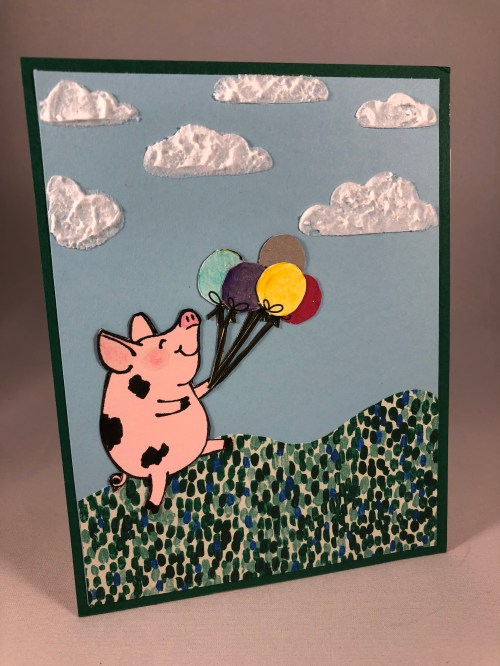 Stampin Up This Little Piggy card idea - Jeanie Stark StampinUp