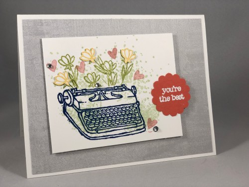 Stampin Up P.S. You're The Best card idea - Jeanie Stark StampinUp