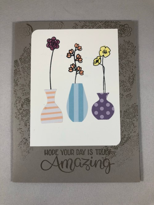 Stampin Up Varied Vases card idea - Jeanie Stark StampinUp