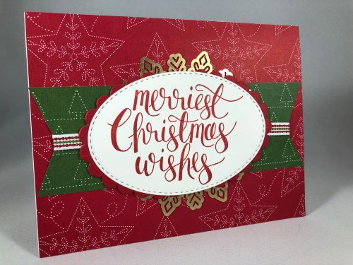 Stampin Up Christmas card idea - Jeanie Stark StampinUp