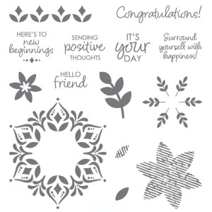 Stampin Up limited edition Happiness Surrounds stamp set - Jeanie Stark StampinUp
