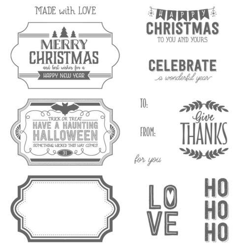 Stampin Up Labels to Love stamp set - Jeanie Stark StampinUp
