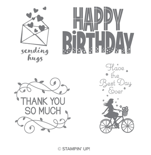 Stampin' Up! One For All Stamp Set - Jeanie Stark StampinUp