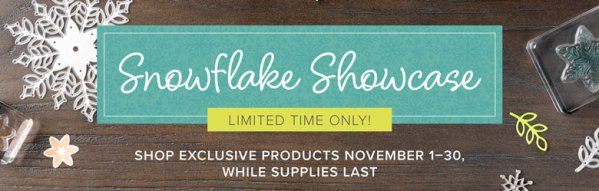 Snowflake Showcase Limited Time Only