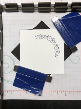 Stampin Up wreath builder template for the Stamparatus - Jeanie Stark StampinUp