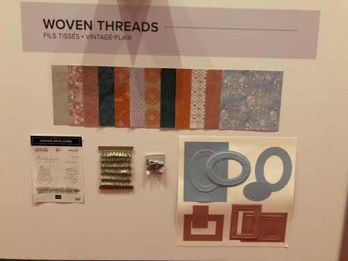 Stampin Up Woven Threads Suite- For inspiration and ordering visit juststampin.com - Jeanie Stark StampinUp