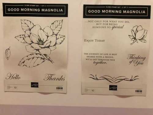 Stampin' Up! Good Morning Magnolia Stamp Set- For inspiration and ordering visit juststampin.com - Jeanie Stark StampinUp