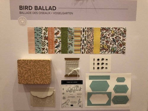 Stampin Up Bird Ballad Suite- For inspiration and ordering visit juststampin.com - Jeanie Stark StampinUp
