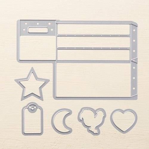Stampin Up Wood Crate Framelits - visit juststampin.com for ideas and inspiration - Jeanie Stark StampinUp