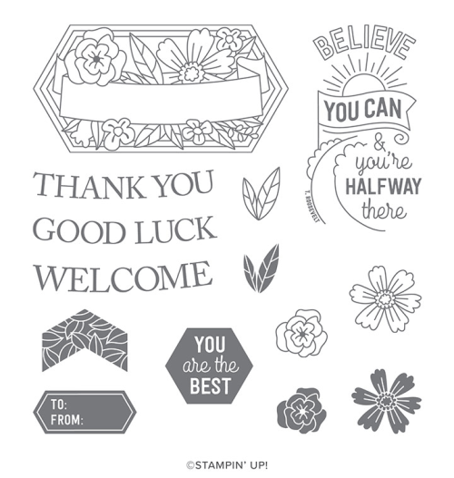 Stampin' Up! Believe You Can Stamp Set - Ask me how you can earn this stamp set! - Jeanie Stark juststampin.com StampinUp