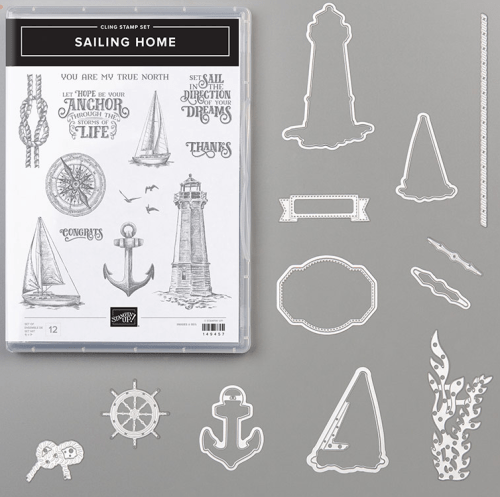 Stampin' Up! Sailing Home Bundle - Save 10% - visit juststampin.com to order - Jeanie Stark StampinUp
