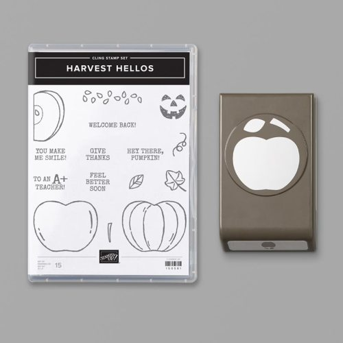 Stampin'Up! Harvest Hellos Bundle - For inspiration and ordering information, visit juststampin.com - Jeanie Stark StampinUp