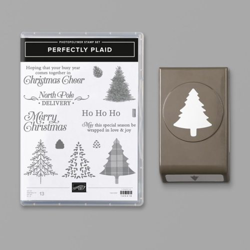 Perfectly Plaid Bundle - For ideas, inspiration, and ordering information, visit juststampin.com - Jeanie Stark StampinUp