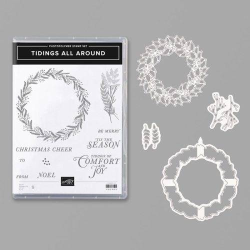 Stampin' Up! Tidings All Around Bundle- For inspiration and ordering information visit juststampin.com - Jeanie Stark StampinUp