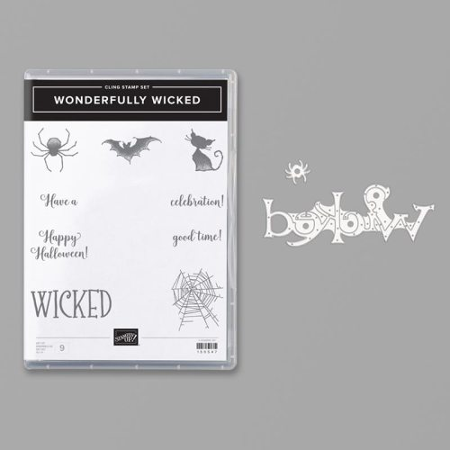 Stampin' Up! Wonderfully Wicked Bundle - For inspiration and ordering information, visit juststampin.com - Jeanie Stark StampinUp