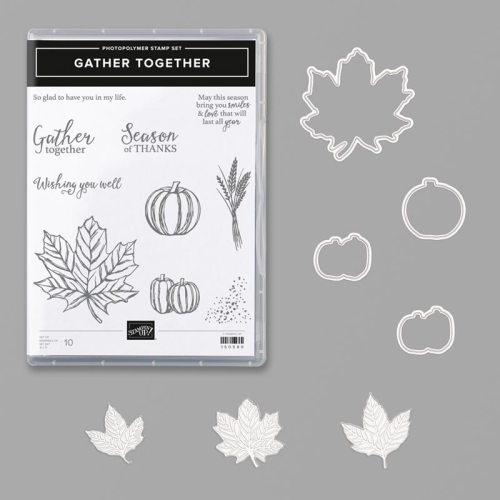 Stampin' Up! Gather Together Bundle - For inspiration, ordering and more, visit juststampin.com - Jeanie Stark StampinUp