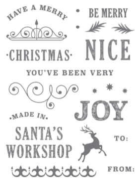 Joy of Giving Tag Kit Stamp Set