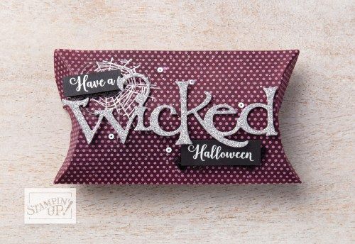 Stampin' Up! Wonderfully Wicked Stamp Set and Wicked Dies gift card or treat holder - For more inspiration and ordering information, visit juststampin.com - Jeanie Stark StampinUp