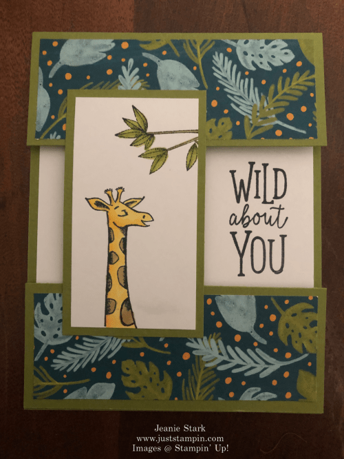 Stampin' Up! Animal Outing Kid card idea - Jeanie Stark StampinUp