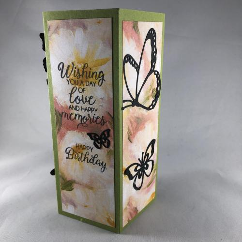Stampin' Up! Beautiful Bouquet Butterfly Beauty Birthday card idea - visit juststampin.com - Jeanie Stark StampinUp