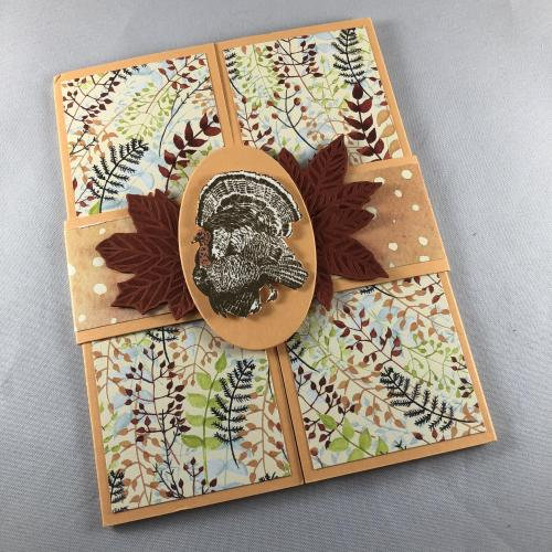 Stampin' Up! Day of Thanks gatefold Thanksgiving card idea - visit juststampin.com - Jeanie Stark StampinUp