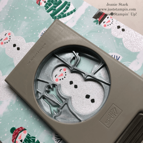 Stampin' Up! Snowman Season Gift Card and Treat Holder idea - Jeanie Stark StampinUp
