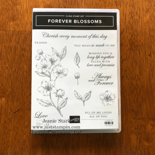 Stampin' Up! Forever Blossoms Stamp Set - For inspiration and ordering information, visit juststampin.com - Jeanie Stark StampinUp