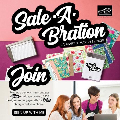 Join Sale-A-Bration
