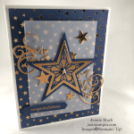 Stampin\' Up! Stitched Stars Dies Congratulations card idea - Jeanie Stark StampinUp