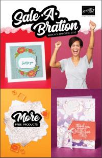 Sale-A-Bration Second Release Brochure