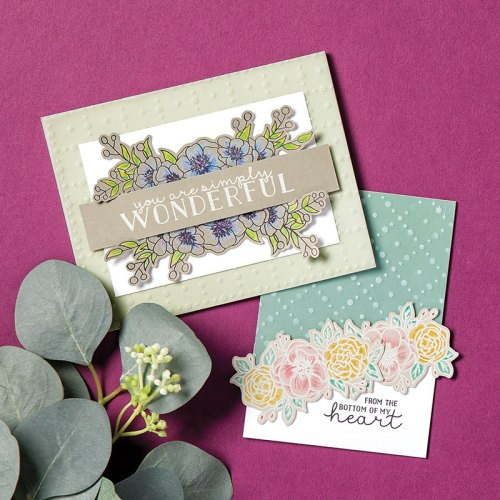 Stampin' Up! So Very Vellum Specialty Designer Series Paper card ideas - Jeanie Stark StampinUp