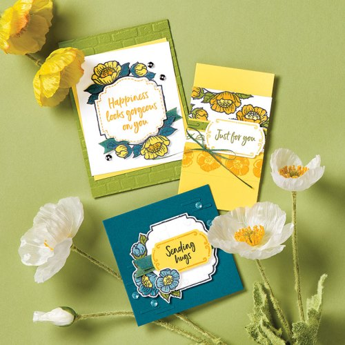 Stampin' Up! Tags in Bloom all occasion card ideas - Jeanie Stark StampinUp