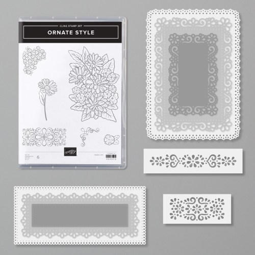 Stampin Up Ornate Style Bundle -for inspiration and ordering information visit juststampin.com - Jeanie Stark StampinUp
