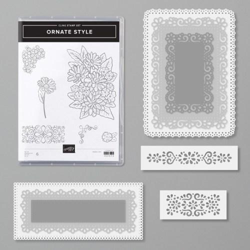 Stampin Up Ornate Style Bundle -for inspiration and ordering information visit juststampin.com - Jeanie Stark StampinUp