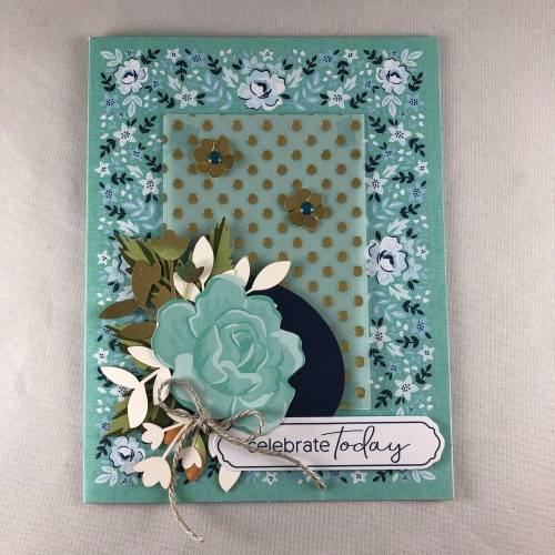 Stampin Up Kerchief card kit birthday card idea - Jeanie Stark StampinUp