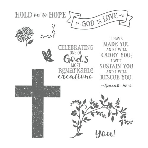Stampin Up Hold On To Hope stamp set - for inspiration and ordering information visit juststampin.com - Jeanie Stark StampinUp
