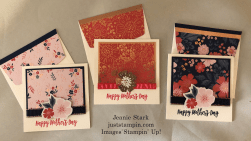 Stampin' Up! Everything is Rosy Mother's Day card ideas - Jeanie Stark StampinUp