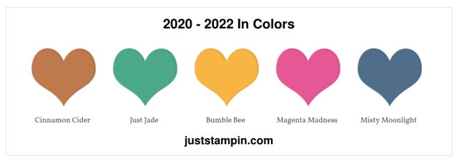2020 - 2022 In Colors