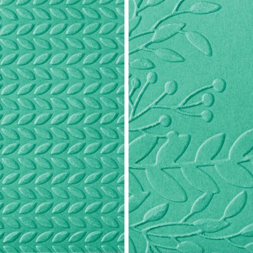 Stampin' Up! Greenery Embossing Folders - Jeanie Stark StampinUp