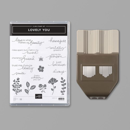 Stampin' Up! Lovely You Bundle - for inspiration and ordering information visit juststampin.com - Jeanie Stark StampinUp