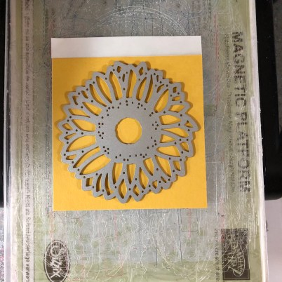Stampin Up Sunflower Dies and Adhesive Sheets - Jeanie Stark StampinUp