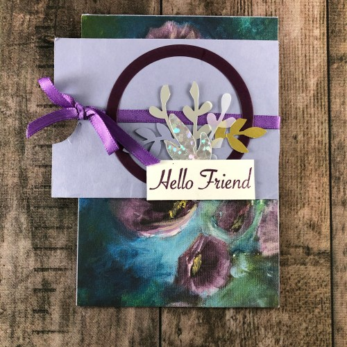 Stampin' Up! friend card idea -Jeanie Stark StampinUp