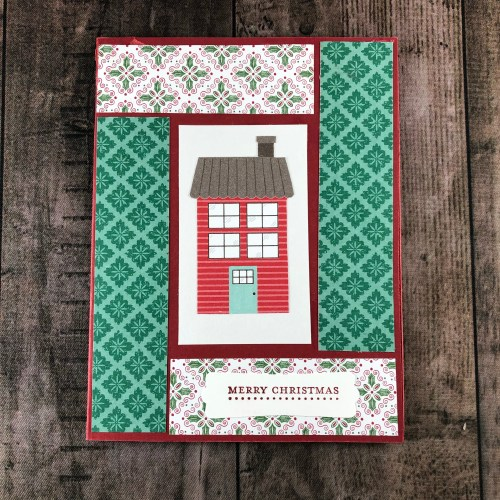 Stampin' Up! Coming Home Christmas card idea - Jeanie Stark StampinUp