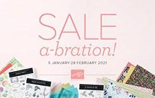 Stampin' Up! 2021 Sale-A-Bration catalog - visit juststampin.com for inspiration and ordering information - Jeanie Stark StampinUp